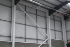 Intumescent Paint to structral steelwork.